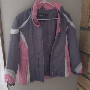 Hawke and Co Girls Pink Coat